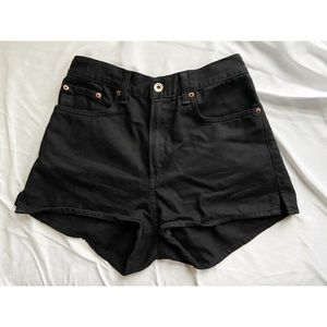 Rag & Bone Black Shorts